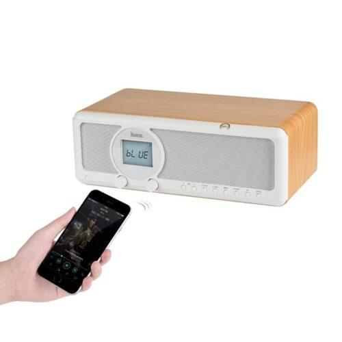 bs12 earl wooden tabletop wireless speaker phone