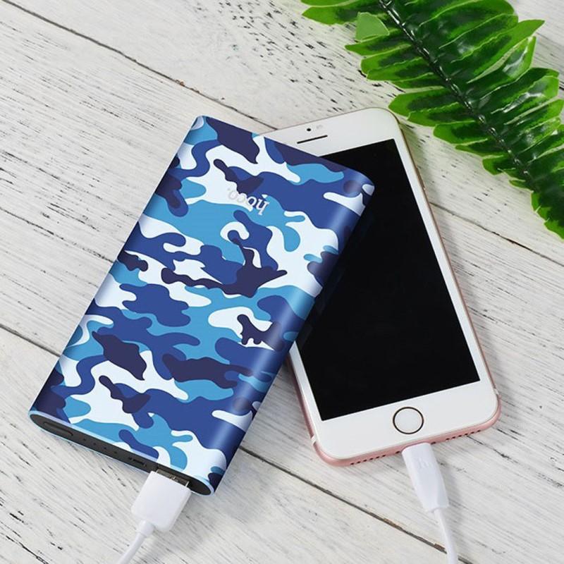 j9 camouflage series power bank 10000 mah phone