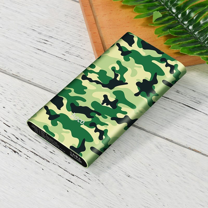j9 camouflage series power bank 10000 mah table
