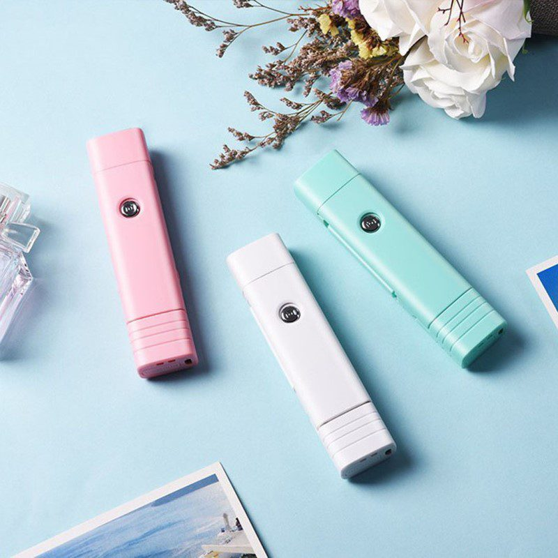 k beauty fill in light wireless selfie stick bluetooth interior