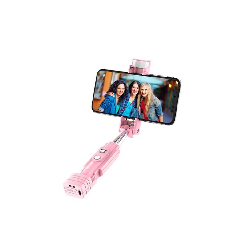 k6 beauty fill in light wireless selfie stick bluetooth phone