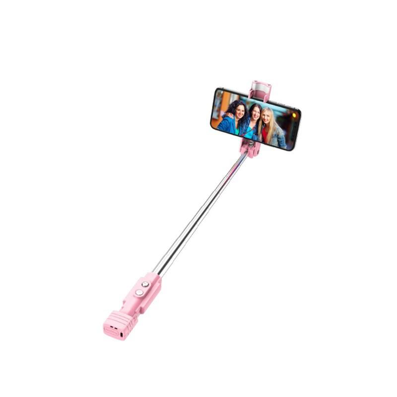 k6 beauty fill in light wireless selfie stick bluetooth rod