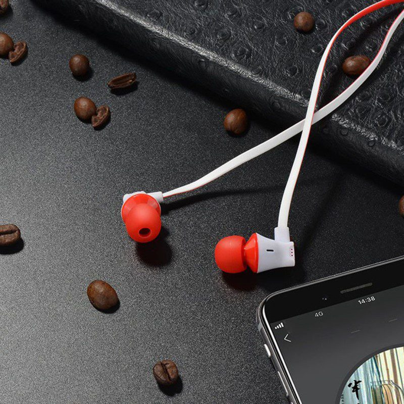 m warbler universal earphones with mic interior