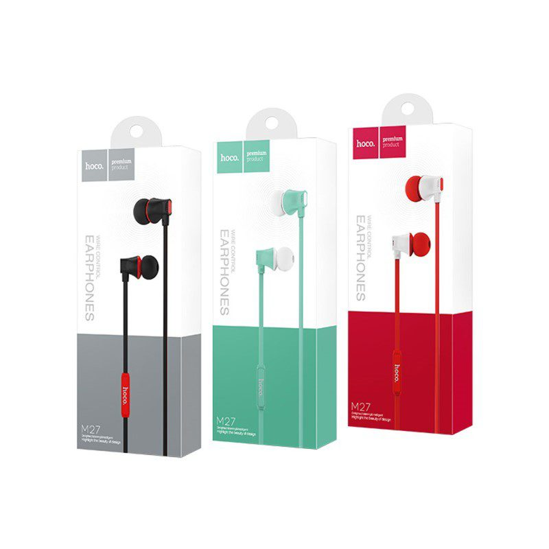 m warbler universal earphones with mic package