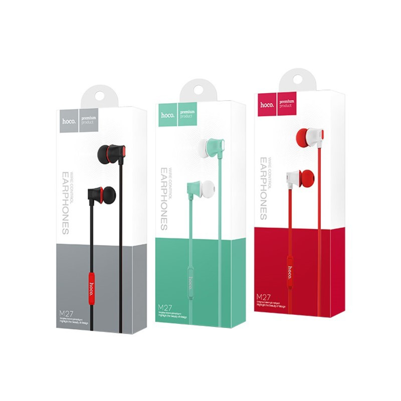 m27 warbler universal earphones with mic package