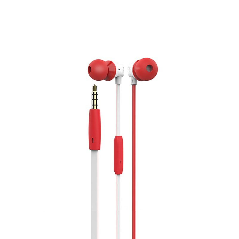 m27 warbler universal earphones with mic side
