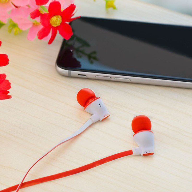 m warbler universal earphones with mic view