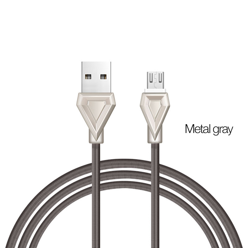 u25 micro usb metal gray