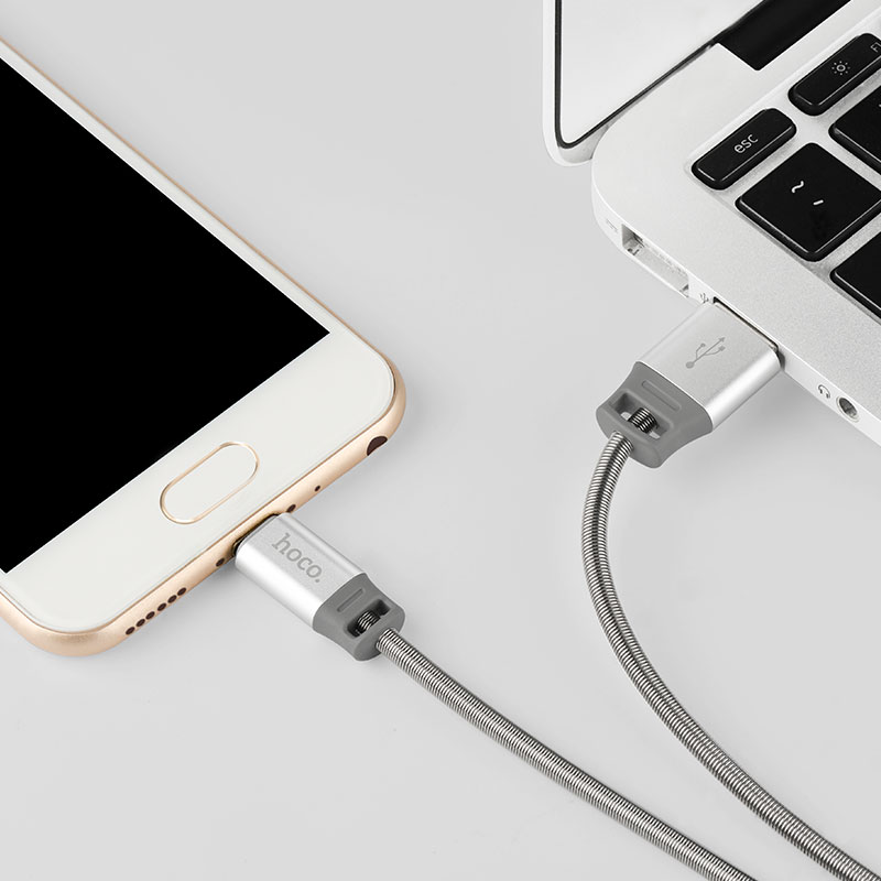 u27 golden shield micro usb charging data cable notebook