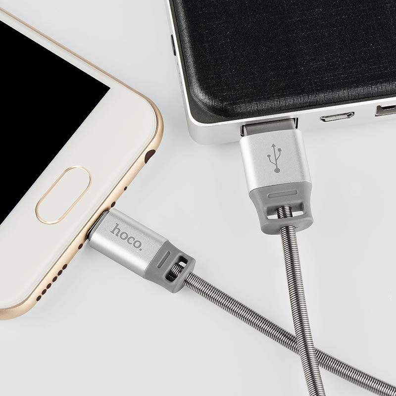 u27 golden shield micro usb charging data cable power bank