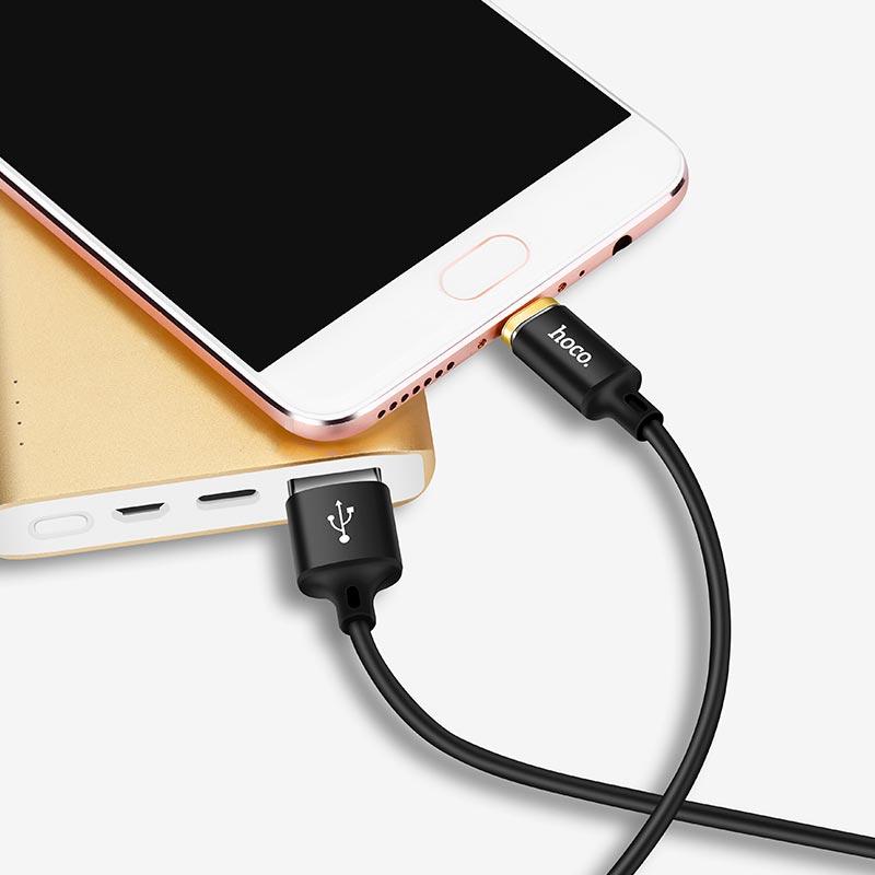 u28 magnetic micro usb charging cable reversible plug power bank