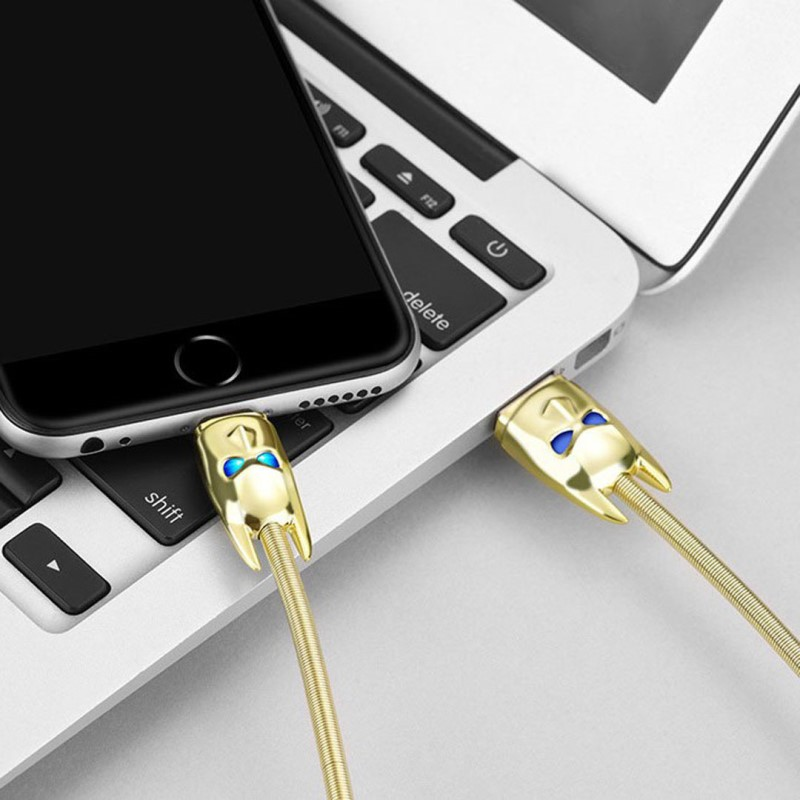 u30 shadow knight lightning charging cable phone