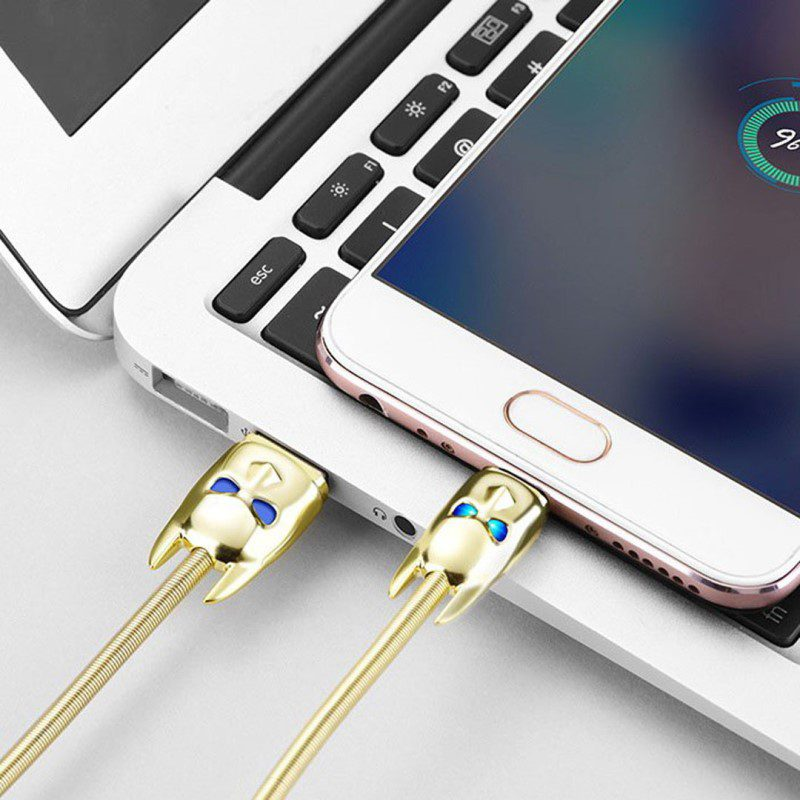 u shadow knight micro usb charging cable connection