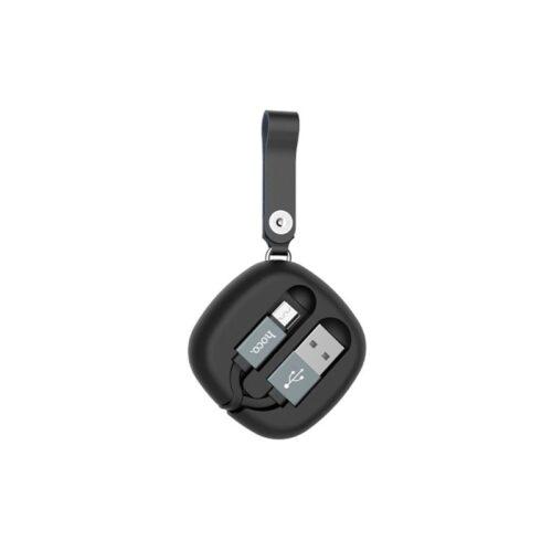 u retractable micro usb charging cable back