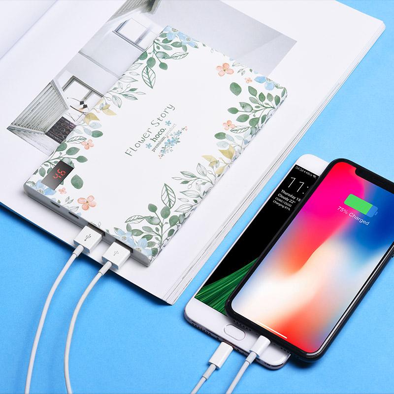 b33 20000 flower story power bank 20000 mah charging