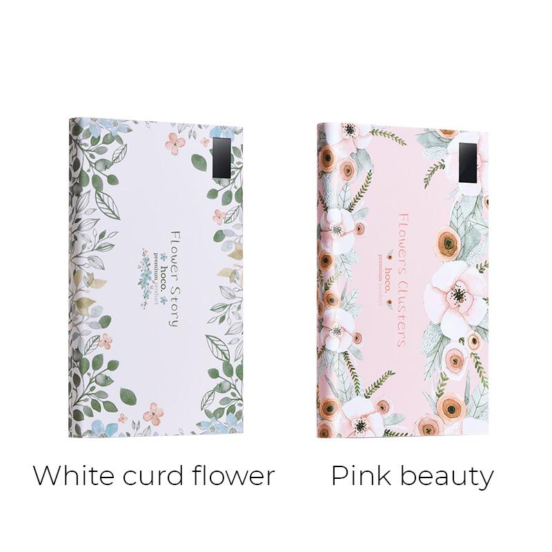 b33 20000 flower story power bank 20000 mah colors