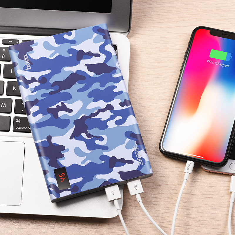 b33a 20000 camouflage power bank 20000 mah interior