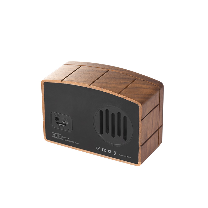 bs15 retro bluetooth speaker back
