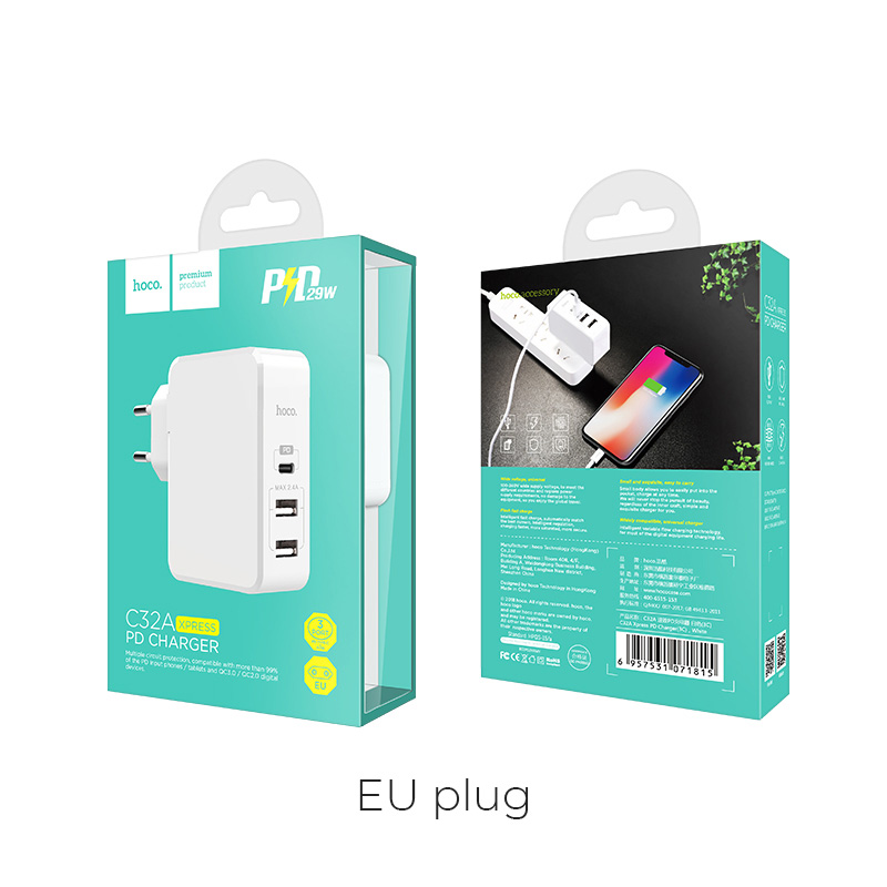 c32a xpress pd charger eu box
