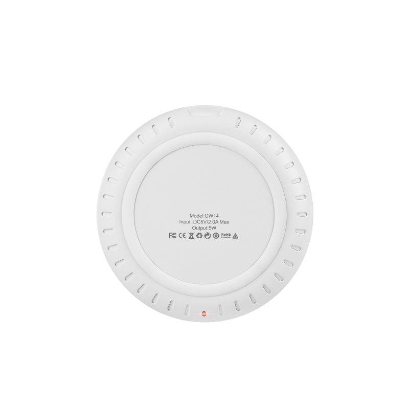 cw14 round wireless charger back