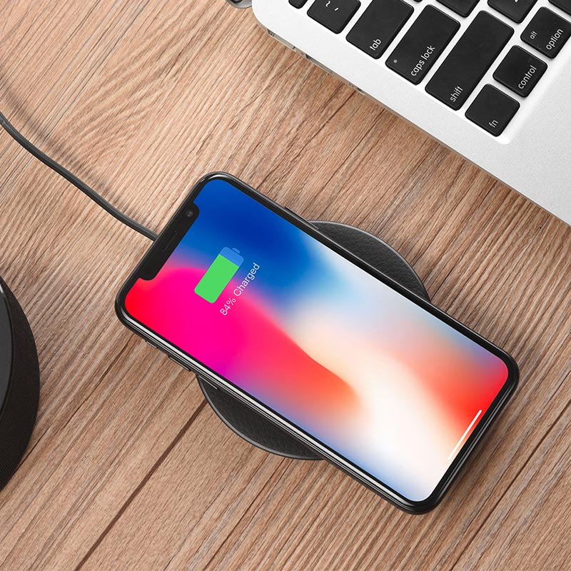 cw14 round wireless charger phone