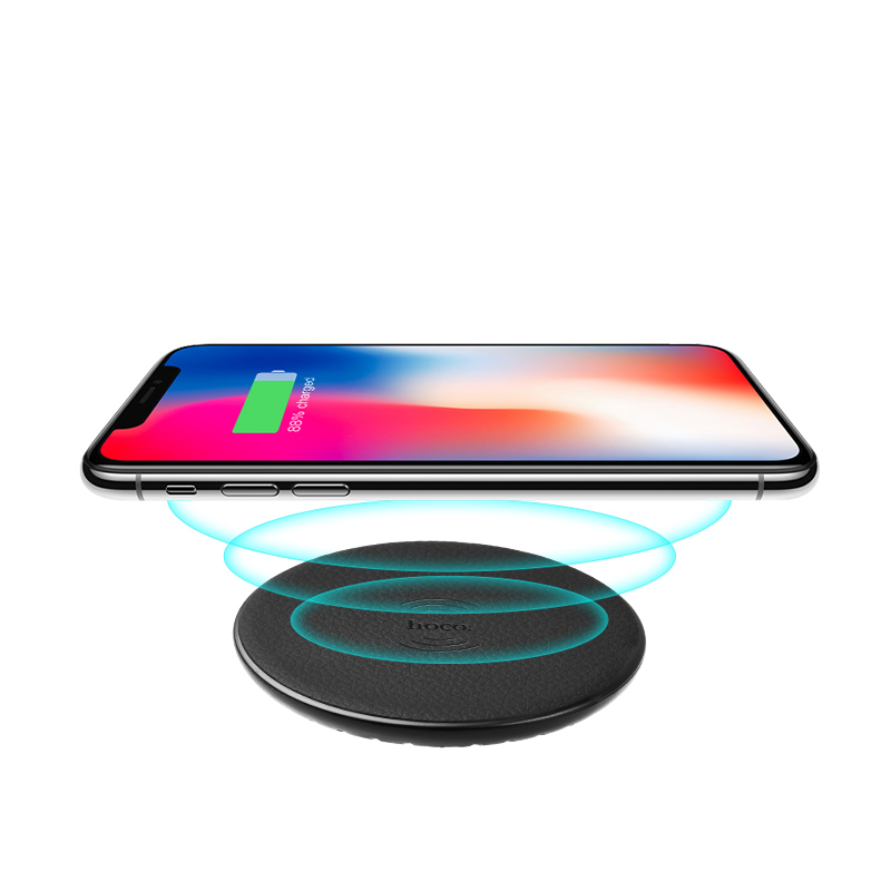 cw14 round wireless charger qi