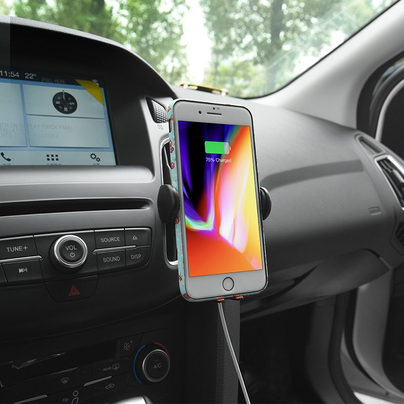 cw4a noble car wireless charger in car