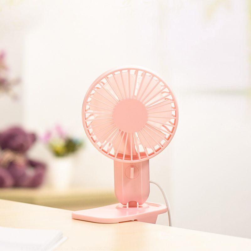 f9 double leaf desktop clip fan table