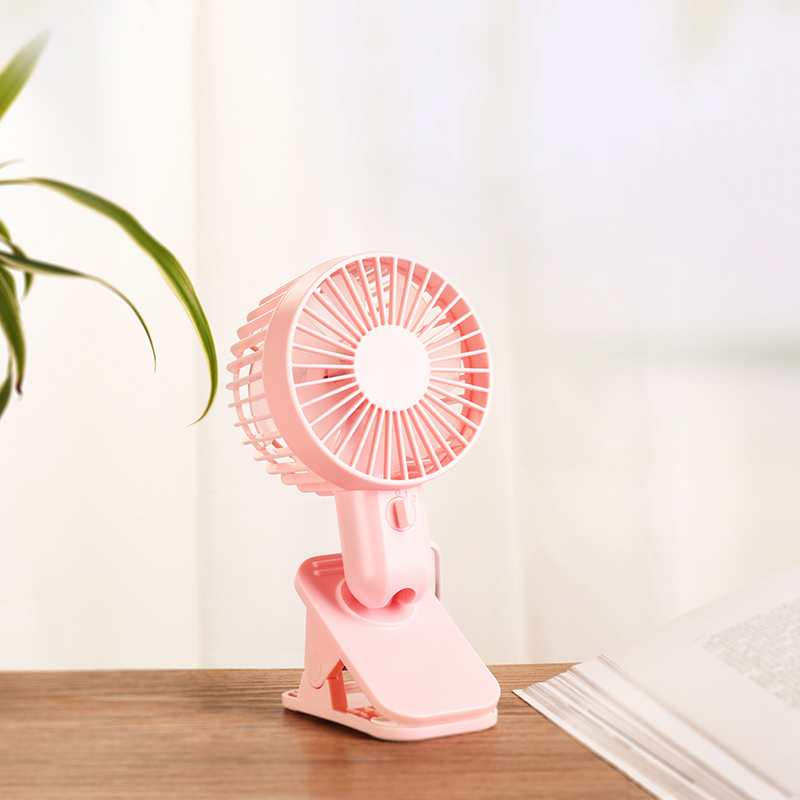 f9 double leaf desktop clip fan top