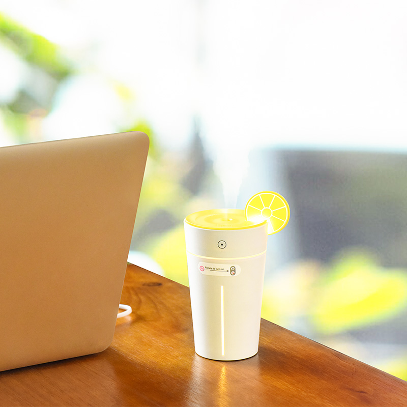 lemon cup humidifier interior