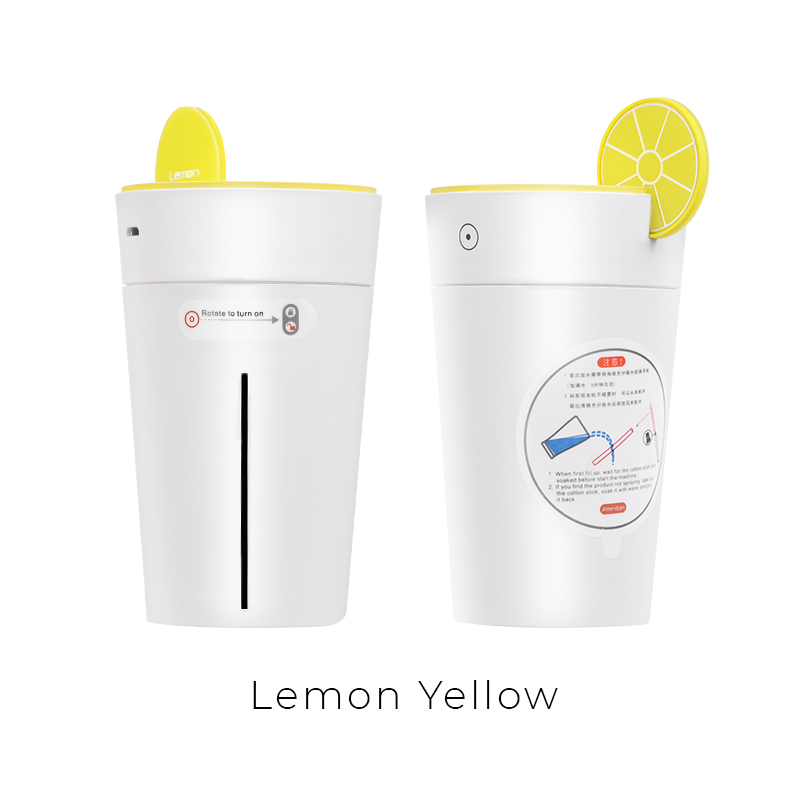 lemon humidifier yellow