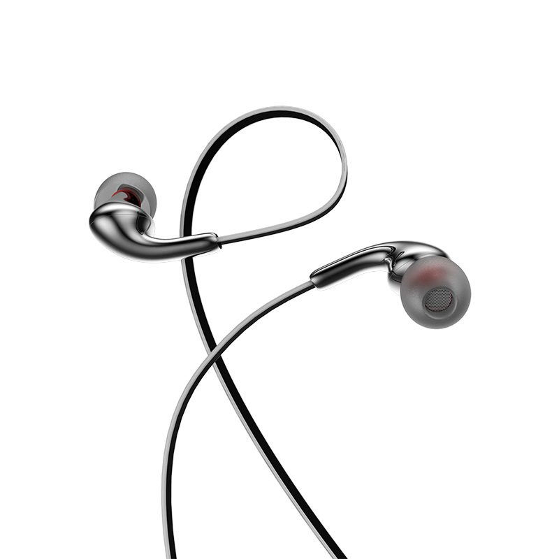 m30 glaring universal earphones with microphone loop