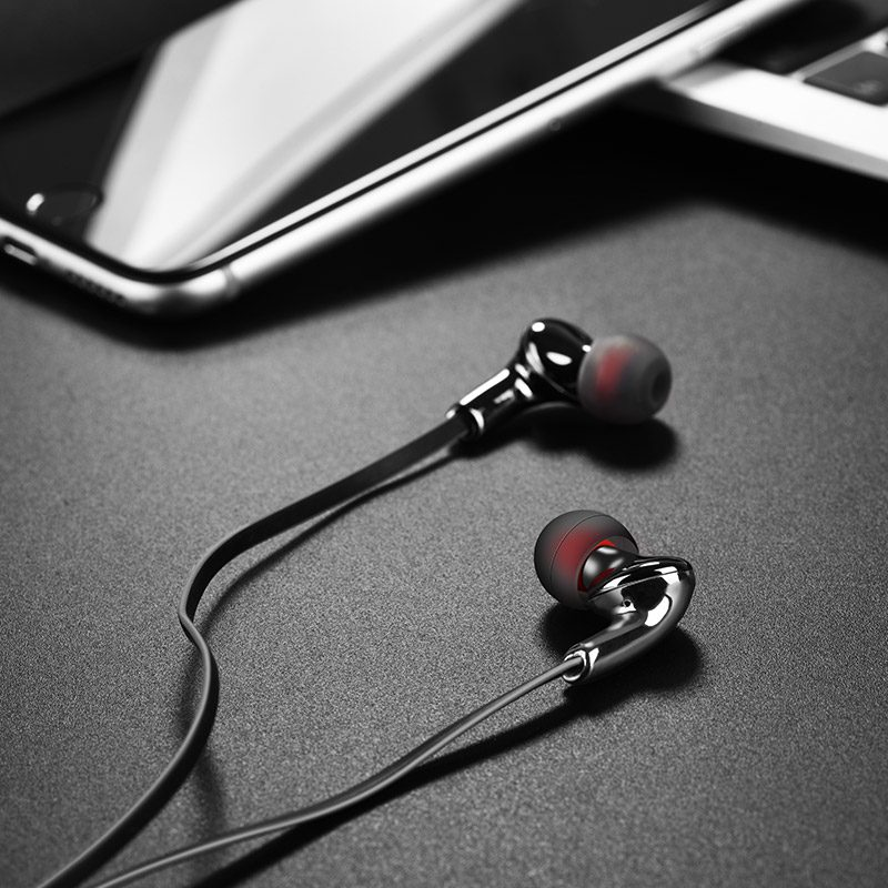 m30 glaring universal earphones with microphone phone