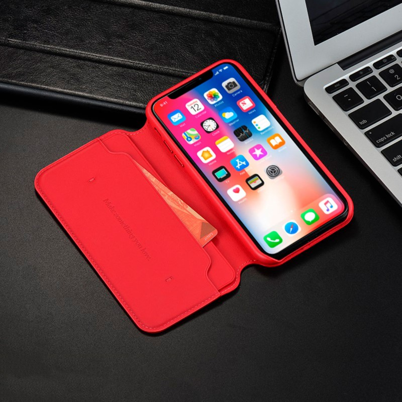 protective cases duke series hibernation leather case for iphonex interior