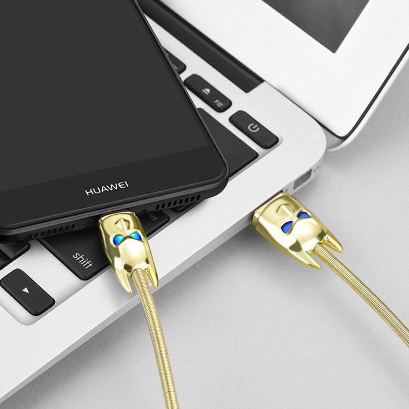 u30 shadow knight usb type c charging cable connection