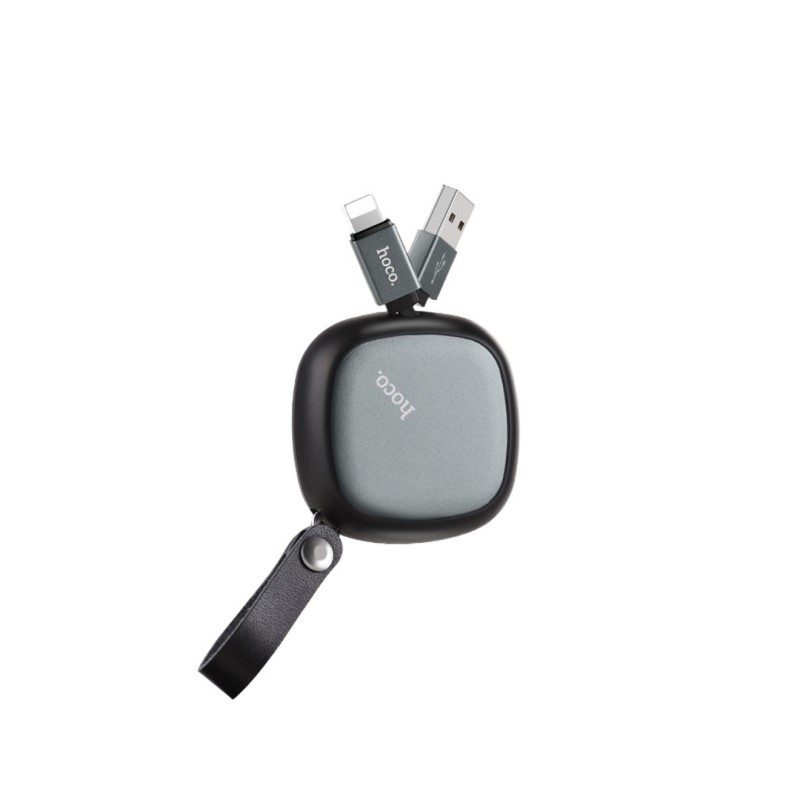 u33 retractable lightning charging cable side