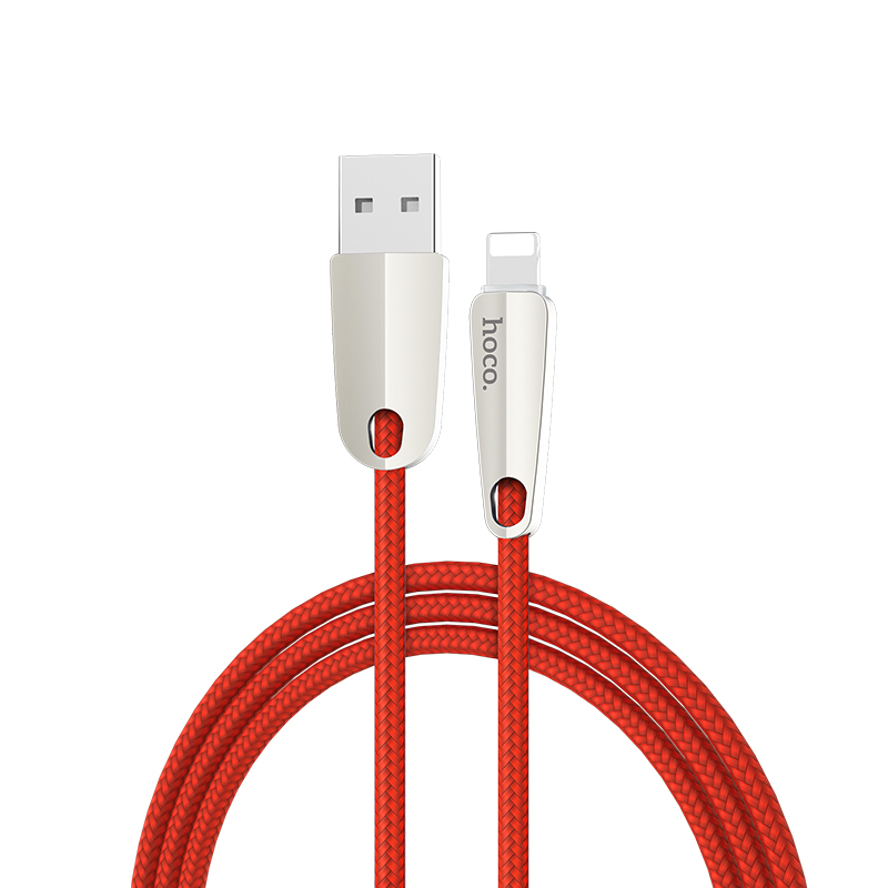 u35 space shuttle smart power off lightning charging data cable