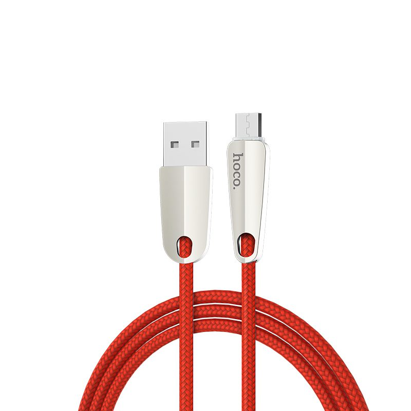 u35 space shuttle smart power off micro charging data cable