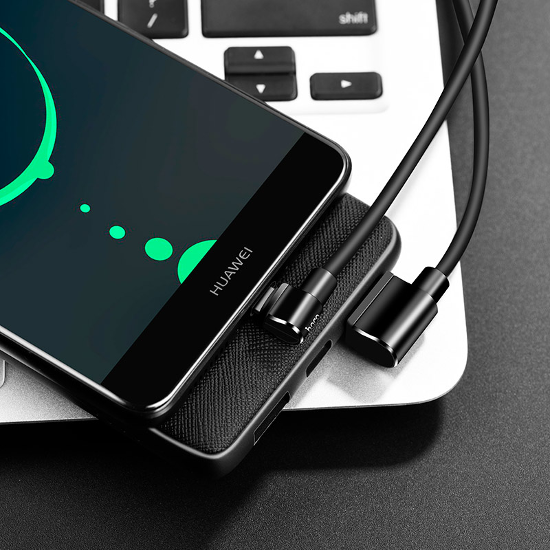 u37 long roam charging data cable type c charge