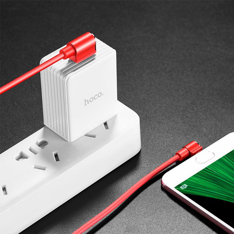 u37 long roam micro usb charging data cable interior