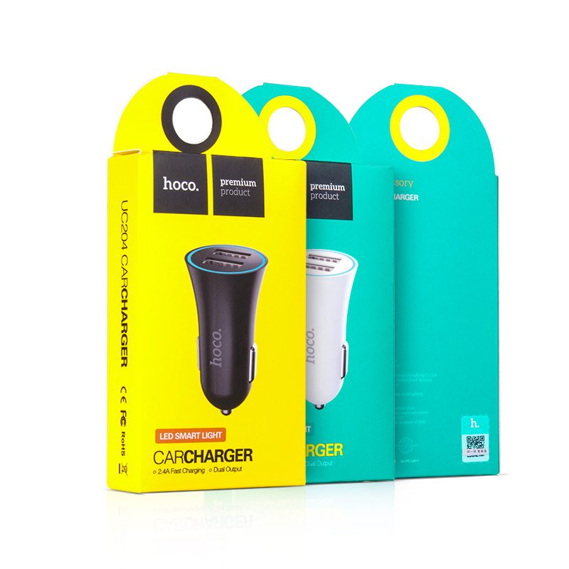 uc204 car charger packaging