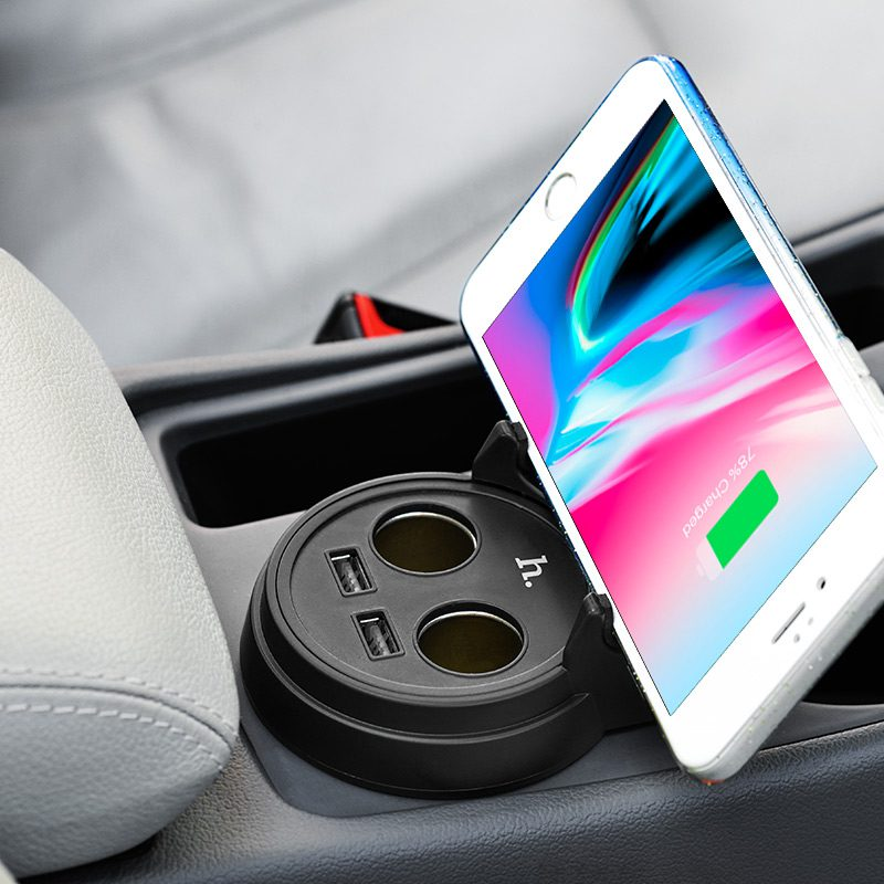 uc207 dual usb cup shape car charger phone