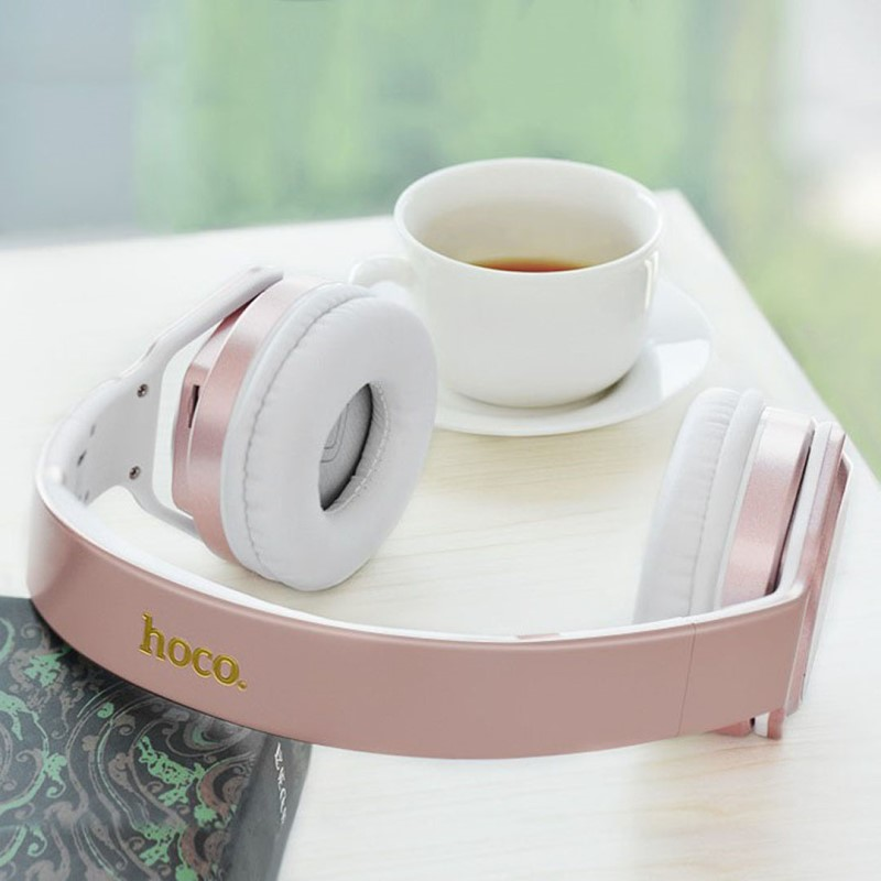 w11 listen nfc wireless headphones table