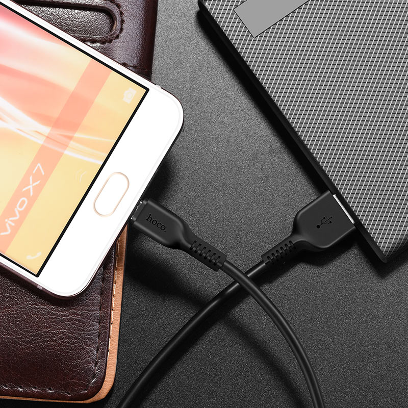 x13 easy charged micro charging cable interior