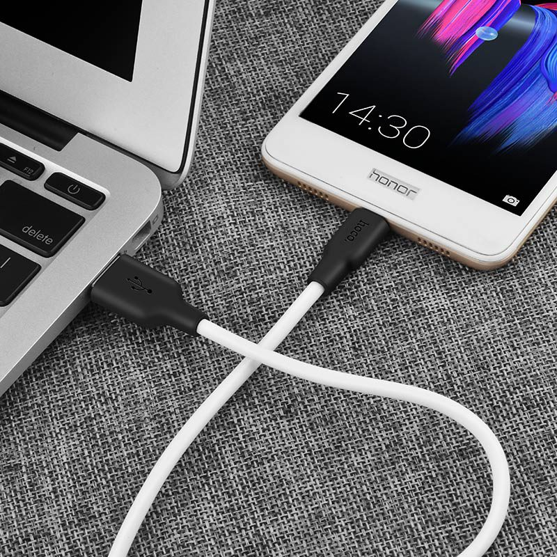 x21 silicone micro charging cable notebook