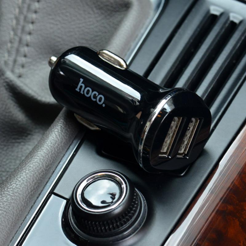 z1 dual usb car charger interior