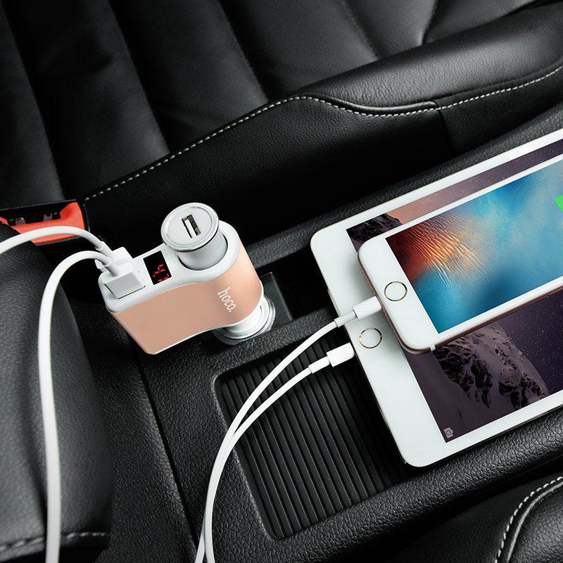 z10 in lighter slot car charger digital display interior
