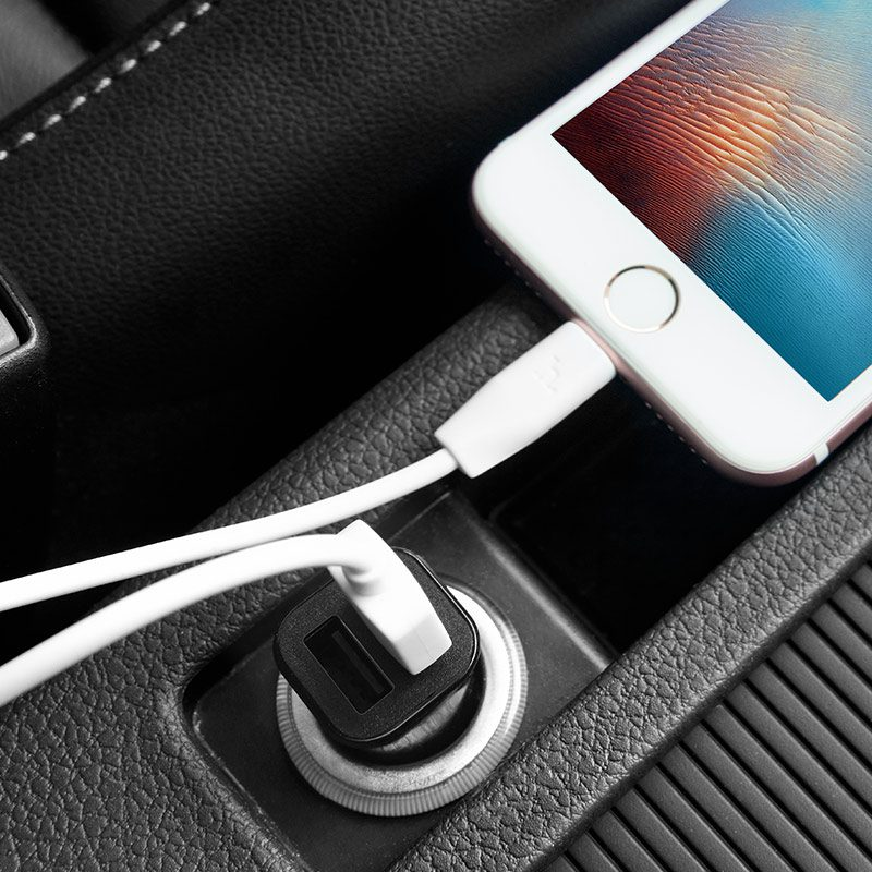 z12 elite dual usb car charger phone