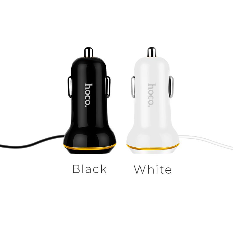 z14 single usb with cable car charger colors