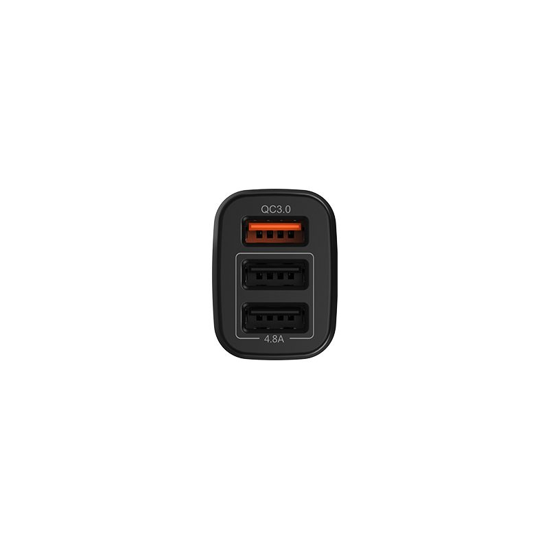 z15b kuso qc3.0 three usb ports car charger ports